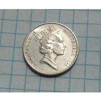 Австралия 5 центов 1998г. Ежик.