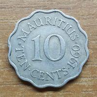 Маврикий 10 центов 1960  _РАСПРОДАЖА КОЛЛЕКЦИИ