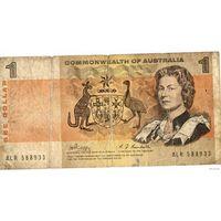 Австралия 1доллар 1969. P37 Commonwealth!
