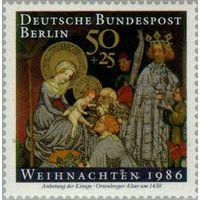 Германия ЗАПАДНЫЙ БЕРЛИН, 1985,  Библейские мотивы | Праздники | Рождество ** (Р)