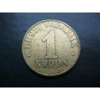 1 крона 2000 г. Эстония.