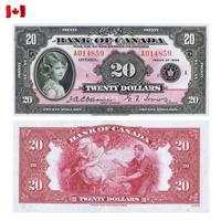 [КОПИЯ] Канада 20 долларов 1935г. (English)