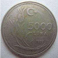 Турция 5000 лир 1993 г. (g)