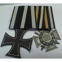Железный крест. и крест Гинденбурга .ПМВ.
