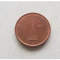 2 евроцента 2004 Италия