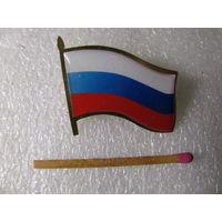 Знак. Флаг Российской Федерации. тяжёлый, цанга