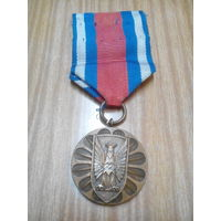 """Медаль """"за заслуги в охране общественного порядка"""" 3 ст. Польша"""