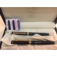 Новые ручки picasso 1881 оригинал перьевая(позолоченное) и роллер(также подходят шариковые стержни)