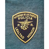 Шеврон полиции Пуерто Рико