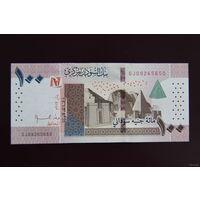 Судан 100 фунтов 2019 UNC