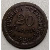Португалия 20 сентаво 1925