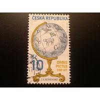 Чехия 2008 глобус Коменского