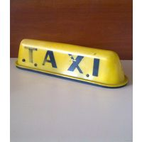 Плафон фонарь Такси для декора или по назначению