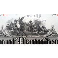 City of Providence Bond $1,000 1935 Highway Loan Rhode Island, 1942 год