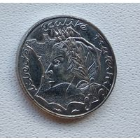 Франция 10 франков, 1986 Свобода, Равенство, Братство 3-2-23