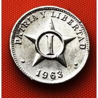 117-17 Куба, 1 сентаво 1963 г.