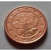 1 евроцент, Германия 2004 G