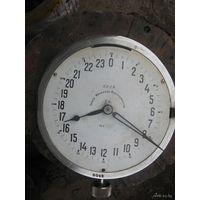 Часы с циферблатом -24 часа-настенные