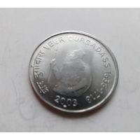 Индия 1 рупия, 2003, 365 лет со дня рождения Вира Дургадасса (акционная цена)