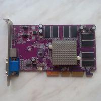 Видеокарта GeForce MX4408X AGP8X 128Mb