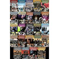 Коллекция комиксов Ходячие Мертвецы 1-24 том