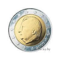 2 евро Бельгия.2000 г !