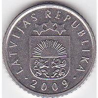 Латвия. 50 сантим. 2009г. (8096)