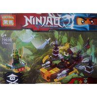 Конструктор Lego Ninjago Последняя битва Корабль 7003В 170 дет,