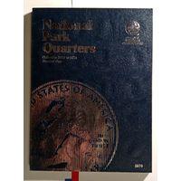 Альбом 25 центов  США  Национальные парки Штаты 2010- 2015 двор P и D