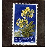 Сан-Марино.Ми-568. Цветы. 1957.