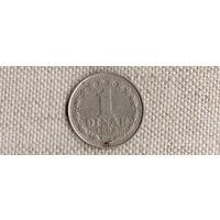 Югославия 1 динар 1965(Uss)