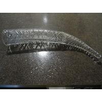 Рог хрустальный, 44см, диаметр 7 см