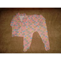 Пижама утепленная на 2 годика