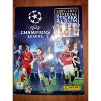 Журнал для наклеек Лига Чемпионов(League Champions 2009-2010)