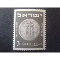 Израиль 1950 монета