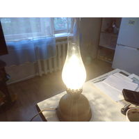 Лампа керосиновая, электрическая