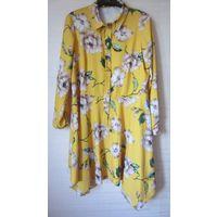Платье с ремнем размер 50-52