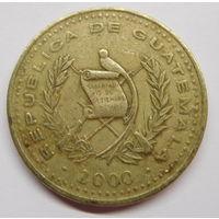 Гватемала 1 кетсаль 2000 г