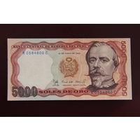 Перу 5000 солей 1985