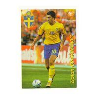Футбольная карточка Златан Ибрагимович Евро 2004