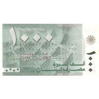 Ливан 1000 ливров образца 2004 года UNC P84a