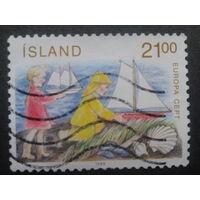 Исландия 1989 Европа