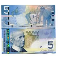 Канада. 5 долларов 2006 [UNC]