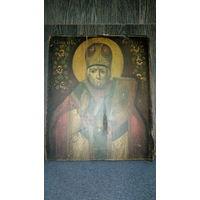 """Икона """" Св.Николай """" . 19 век."""