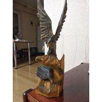 Статуэтка орел на скале CCCР