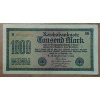 1000 марок 1922 года - Германия (Ro.75d)