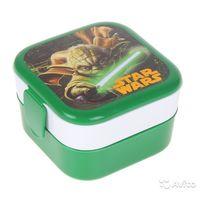 Star Wars Йода Контейнер для обеда (0,4+0,4л)