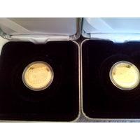 Филин , Золотая , проба золота: 999. 50 рублей , 2010 год. Тираж 2.000 шт.