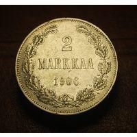 2 марки 1906 г. (L) Русско-финские Не частая!