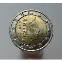 2 евро 2004 Люксембург UNC